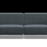 brenna salotti milano divano cerchio antracite 01