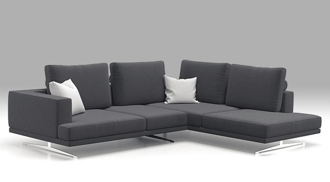 brenna salotti divano minimal sfondo bianco collezioni catalogo