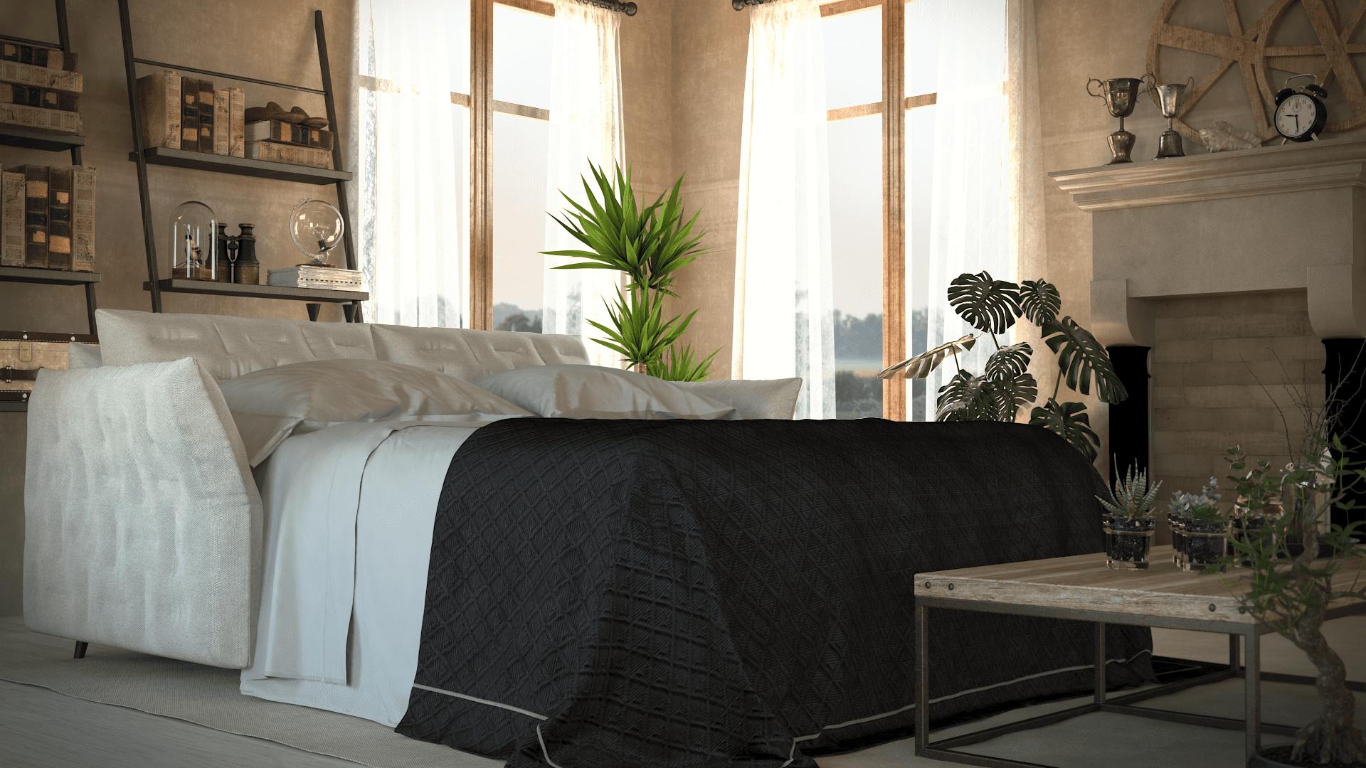 brenna salotti milano divano letto soft 17