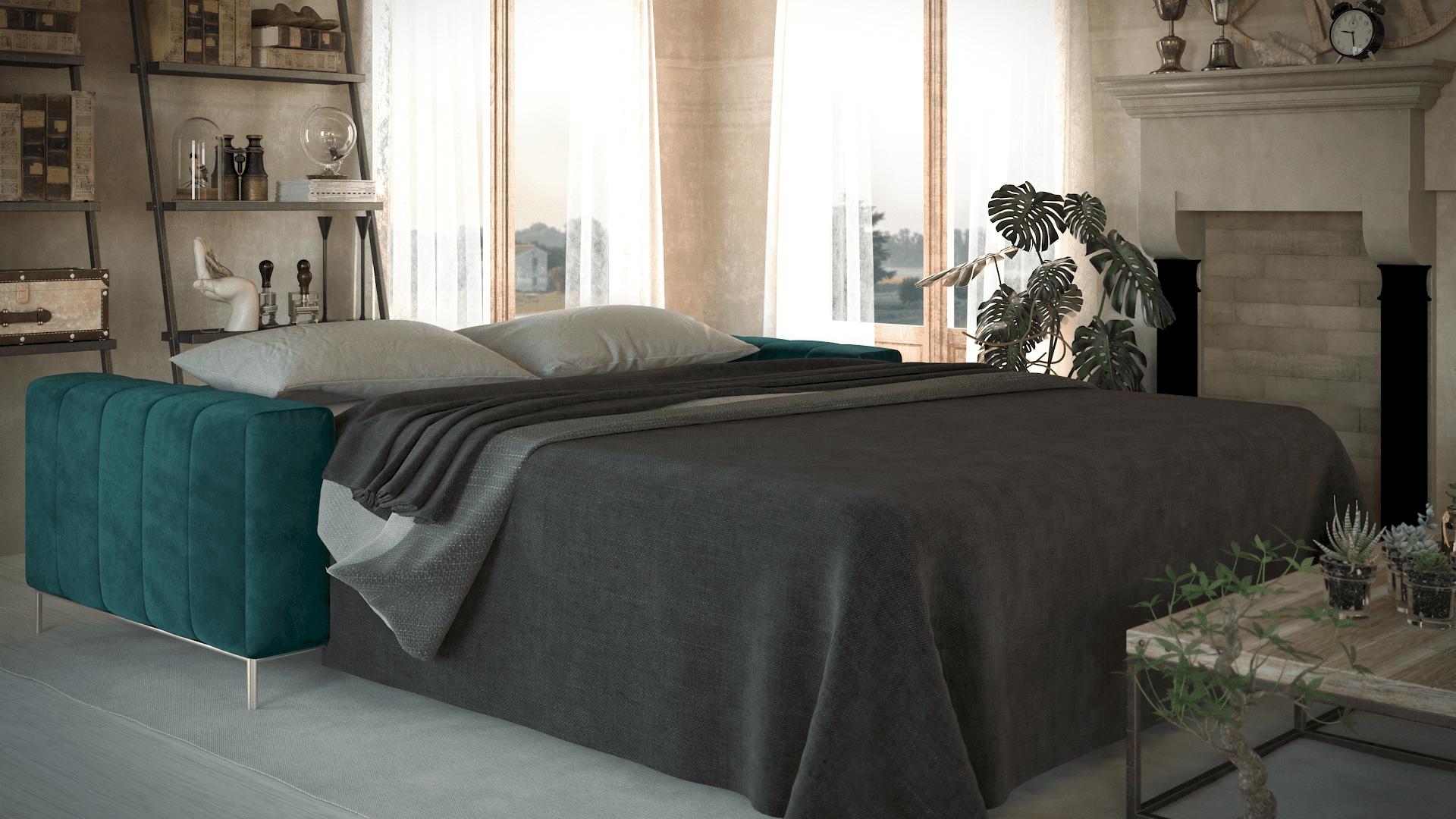 brenna salotti milano divano letto tubolar 03