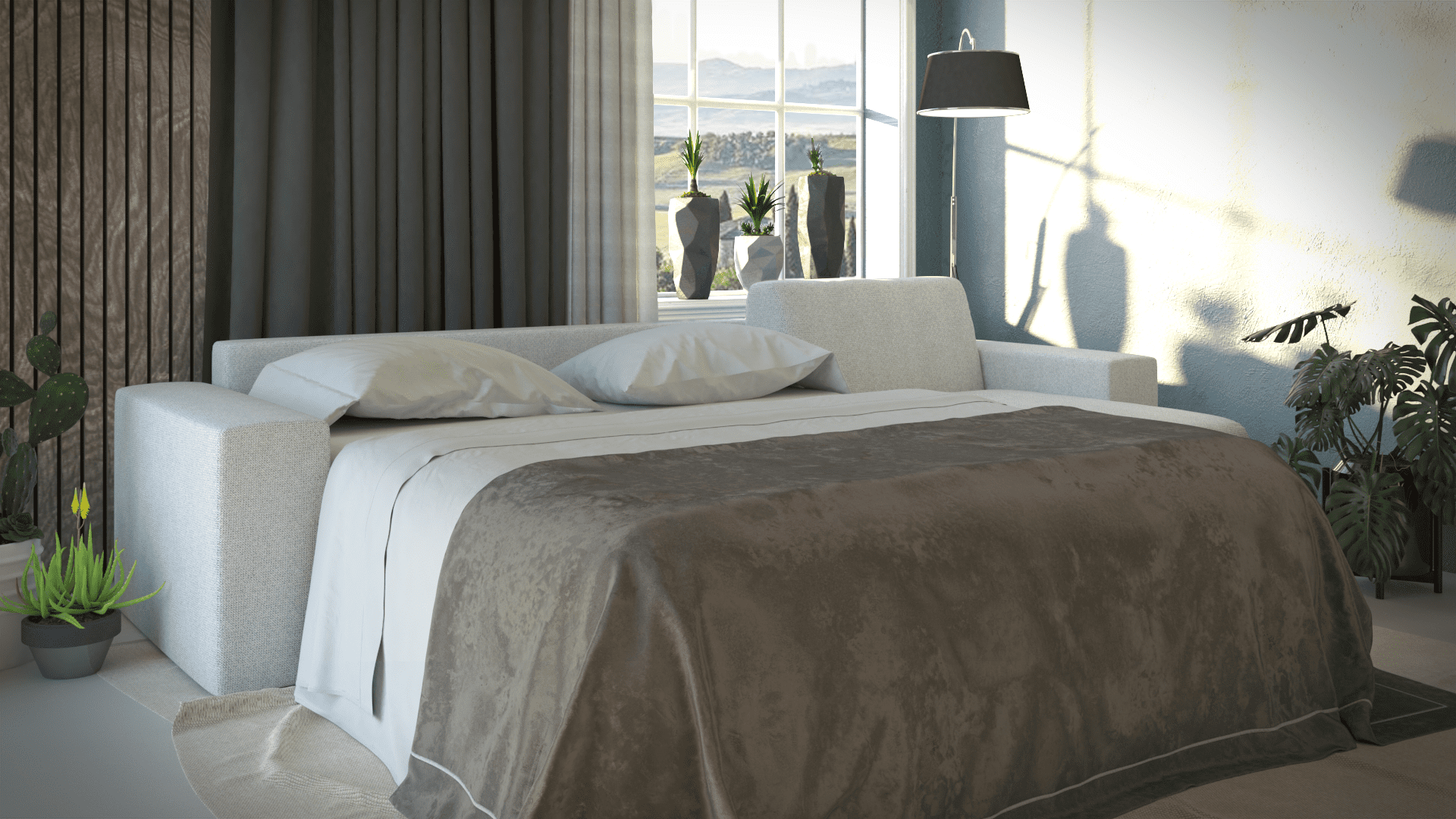 brenna salotti milano divano letto piano 16